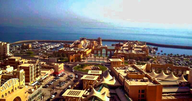Kuwait Business Travel, Aerial View of Kuwait